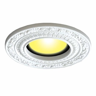 "Spot Light Trim White Urethane Recess 6"" ID X 10"" OD 