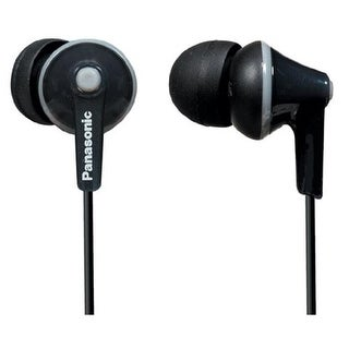 Panasonic RP-TCM125-K Tcm125 Earbuds With Remote & Microphone -black