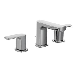 Moen T6920 Rizon Double-Handle Widespread Low Arc Bathroom Faucet