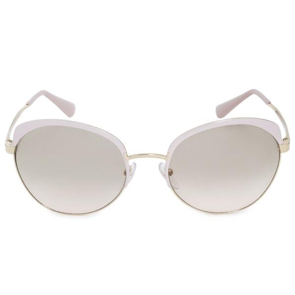 d89af219a290 Shop Prada Oversized Cinema Oval Sunglasses PR54SS UF53H2 59 - Free ...