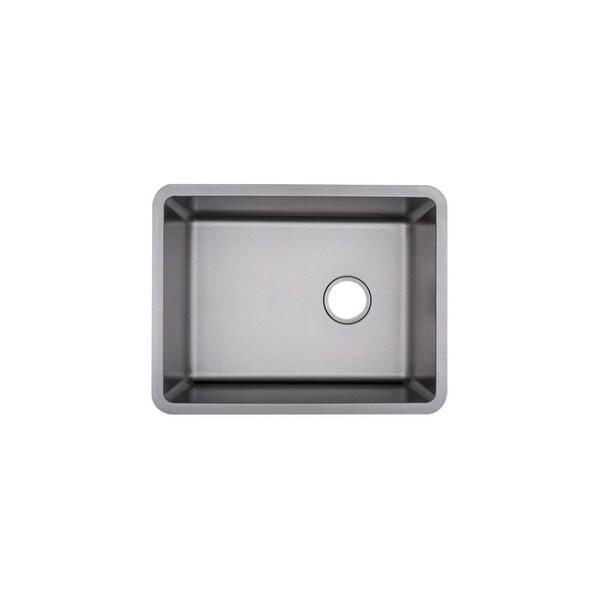 Mirabelle MIRUC2318 Ortega 24in Undermount Single Basin Kitchen Sink -  Stainless Steel - N/A