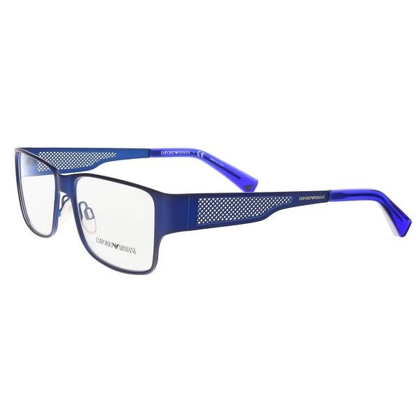 7a6b8946979 Clothing   Shoes     Accessories     Eyeglasses     Optical Frames. Emporio  Armani EA1022 3050 Matte Blue Square Optical Frames - 53-16-140