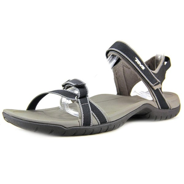 a3bdedac6dc3 Shop Teva Verra Women Open-Toe Synthetic Black Sport Sandal - Free ...