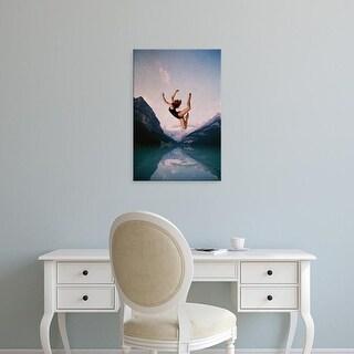 Easy Art Prints Andreas Lie's 'Falling' Premium Canvas Art