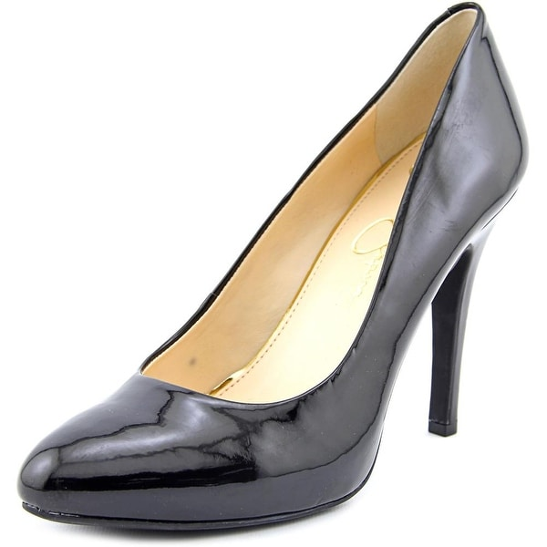 Jessica Simpson Malia Womens Black Pumps