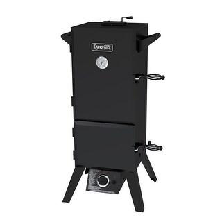 Dyna-Glo DGY784BDP 36in Dual Door LP Gas Smoker