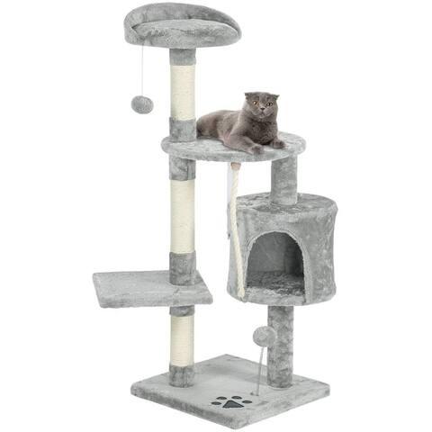 EROMMY Multi-Level Cat Tree Tower Condo