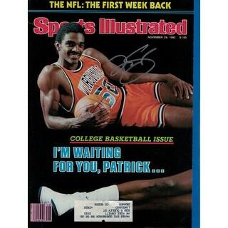 Ralph Sampson Autographed November 29, 1982 Virginia Cavaliers Sports Illustrated