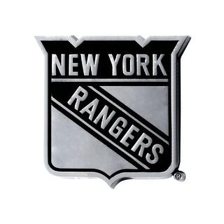 "NHL - New York Rangers Emblem - 2.5"" x 4"""