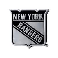 "NHL - New York Rangers Emblem - 2.5"" x 4"""