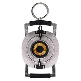 Portal 2 Space Sphere Plush Keychain P277 - multi