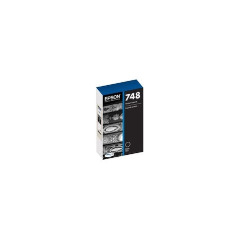 Epson 748 Ink Cartridge Standard Capacity - Black Epson DURABrite Pro 748 Ink Cartridge - Black - Inkjet - Standard