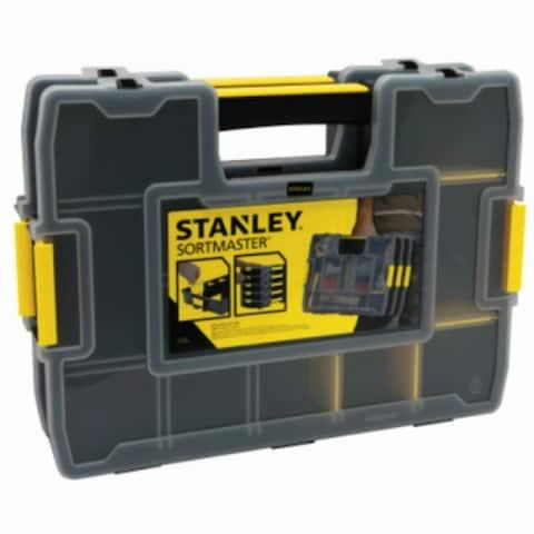 Stanley STST60944C SortMaster Junior Tool Organizer, Yellow/Black, 2 Pack