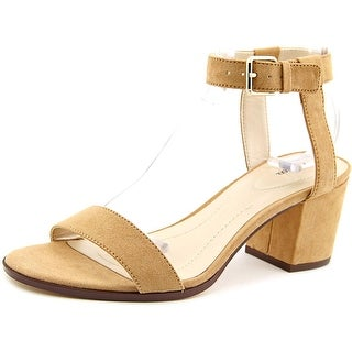 Style & Co Mullaney Women Open Toe Synthetic Tan Sandals