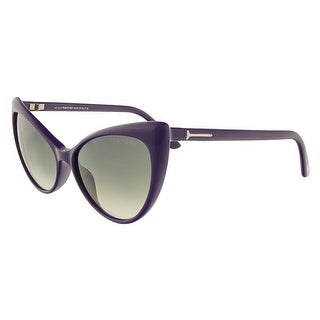 Tom Ford FT303/S 90B Anastasia Purple Full Rim Cateye Sunglasses - 55-15-135