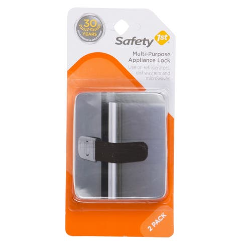 Safety 1St HS148 Multi-Purpose Appliance Lock, Black, 2-Pack