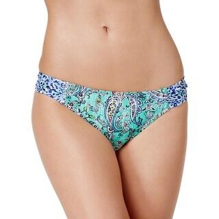 Profile Blush by Gottex Womens Printed Bikini Swim Bottom Separates - XS