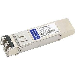 AddOn EX-SFP-10GE-SR-AO AddOn Juniper Networks EX-SFP-10GE-SR Compatible TAA Compliant 10GBase-SR SFP+ Transceiver (MMF, 850nm,
