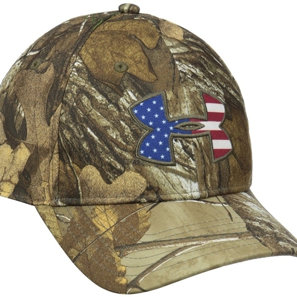 1c52a034f91 Shop Under Armour Men s Camo BFL Cap - On Sale - Free Shipping On Orders  Over  45 - Overstock - 23173409