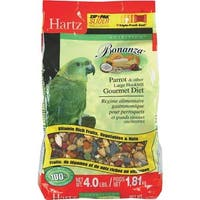 Hartz Mountain 4Lb Parrot Food 3270097619 Unit: EACH