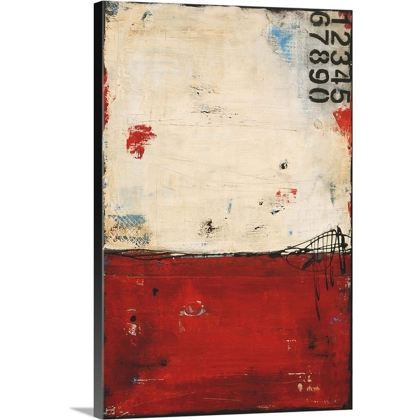 """LA Story"" Canvas Wall Art"