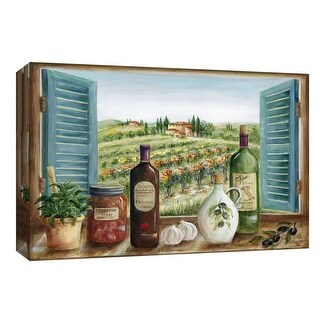 "PTM Images 9-148068  PTM Canvas Collection 8"" x 10"" - ""Villa Toscano"" Giclee Rural Art Print on Canvas"