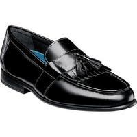 Nunn Bush Men's Denzel Kiltie Loafer Black Leather