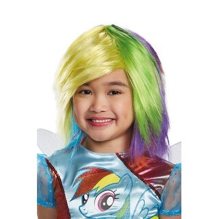 Disguise Rainbow Dash Child Wig