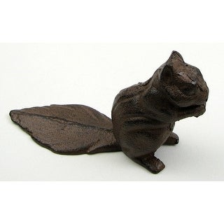 Squirrel Cast Iron Door Stop