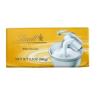 Lindt Bar, Swiss White Chocolate - (Case of 12 - 3.5 oz)