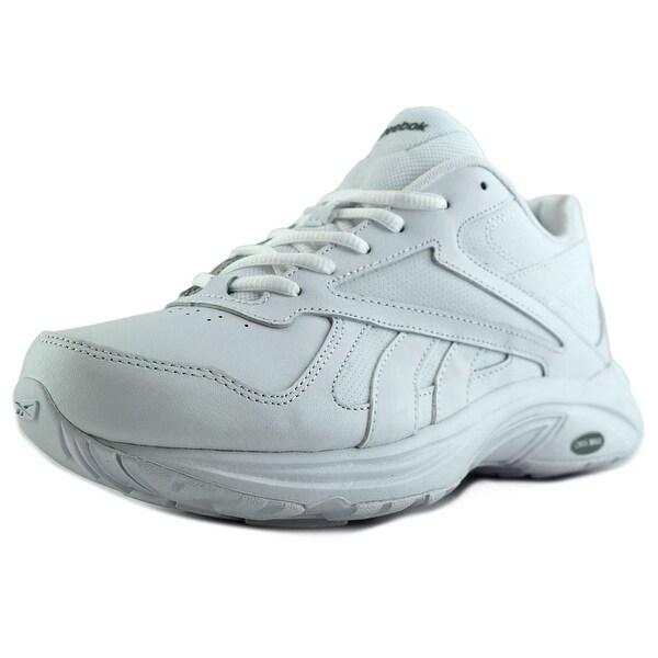 Reebok Walk Ultra V DMX MAX Women W Round Toe Synthetic White Walking Shoe
