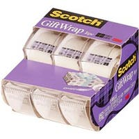 """.75""""X300"""" 3/Pkg - Scotch Giftwrap Tape"""