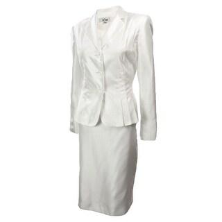 Women's Dupioni Business Suit Skirt Set