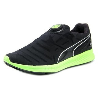 Puma Ignite Disc Men Round Toe Synthetic Black Running Shoe
