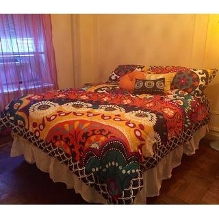 Lush Decor Maya Quilted 5-piece Comforter Set