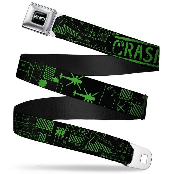 Call Of Duty Modern Warfare Full Color Black White Greens seatbelt Belt Seatbelt Belt