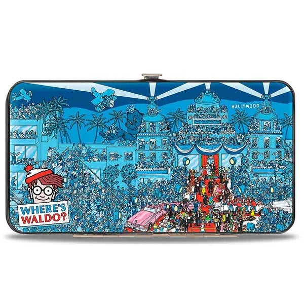 Where's Waldo? When The Stars Come Out Hinged Wallet - One Size Fits most