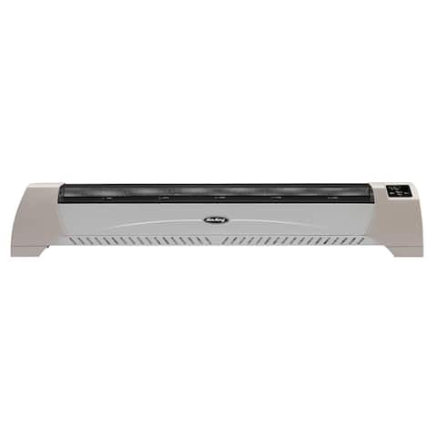 """Air King 8820C 39-3/4"""" Wide 5118 BTU 1500 Watts 120 Volts Baseboard Heater with Adjustable Thermostat and Timer - - Beige"""