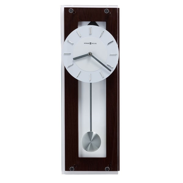 Howard Miller Emmett Transitional, Modern and Contemporary, Bold and Chic, Wall Clock with Pendulum, Reloj De Pared. Opens flyout.