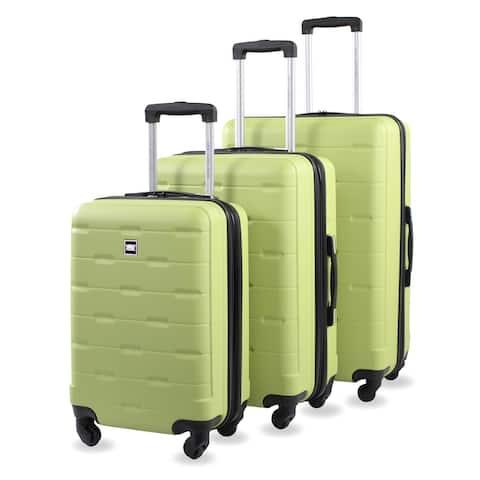 Mesa 3-Piece Expandable Hard Spinner Luggage Set