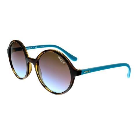 Vogue VO5036S W65648 Dark Havana Round Sunglasses - 52-19-135
