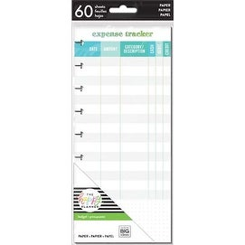 Expense Tracker - Happy Planner Medium Half Sheet Fill Paper 60/Pkg