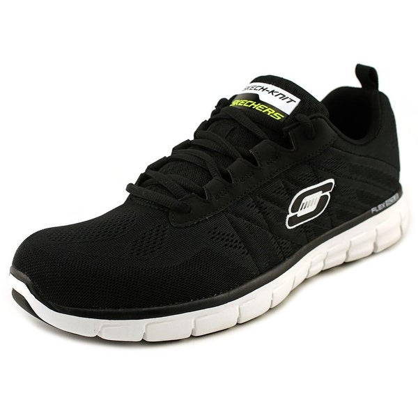 Skechers Sport Synergy-Power Switch Women Round Toe Synthetic Black Sneakers