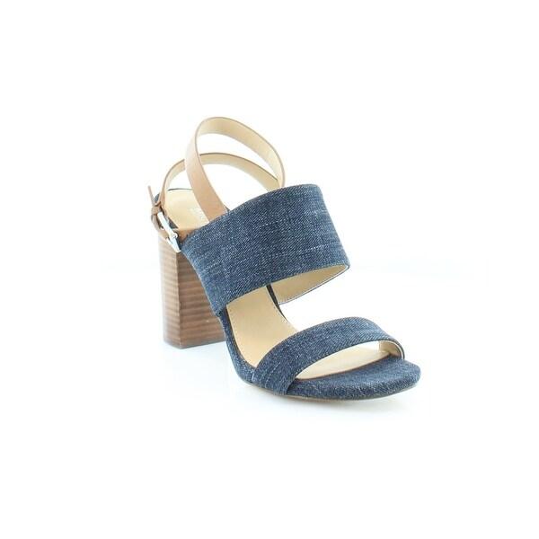 Michael Kors Arden Sandal Women's Sandals & Flip Flops Indigo/Acorn