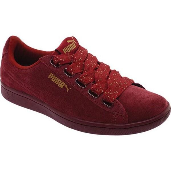 8c26e76fcf92 ... Women s Shoes     Women s Sneakers. PUMA Women  x27 s Vikky Ribbon Dots  Sneaker Pomegranate Pomegranate