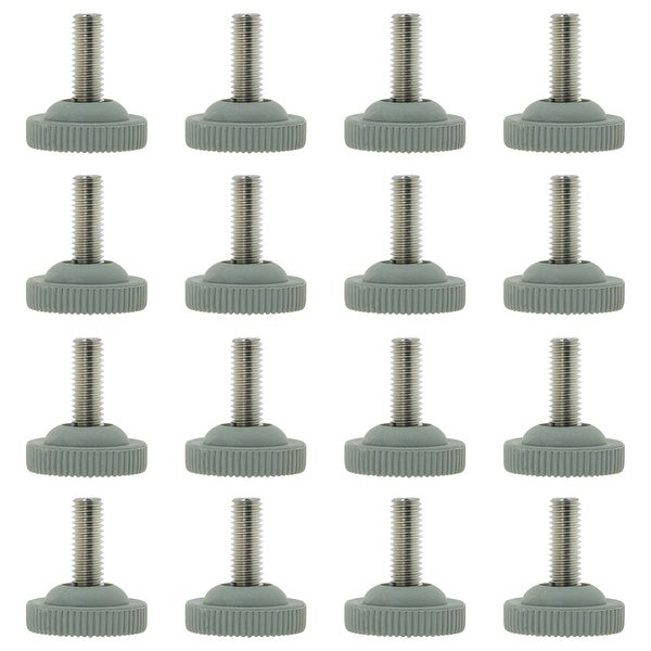 20 Pcs Levelling Machine Feet M8 Screw in Height Adjustable Glides Feet