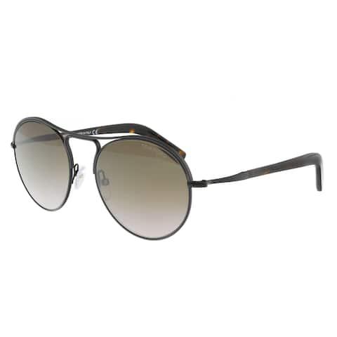 Tom Ford FT0449 05K Jessie Black Aviator Sunglasses - 54-18-145