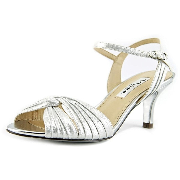 Nina Womens Camille Open Toe Special Occasion Ankle Strap Sandals