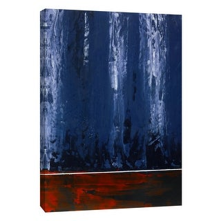 "PTM Images 9-105290  PTM Canvas Collection 10"" x 8"" - ""Squeegeescape 7"" Giclee Abstract Art Print on Canvas"