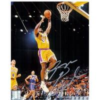 Signed Lynch George - Los Angeles Lakers - 8x10 Photo Photo